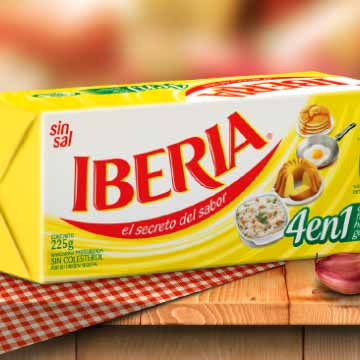 margarina Iberia sin sal
